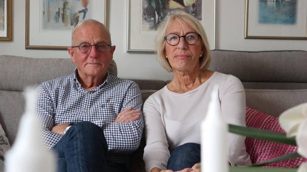 äldre man och kvinna