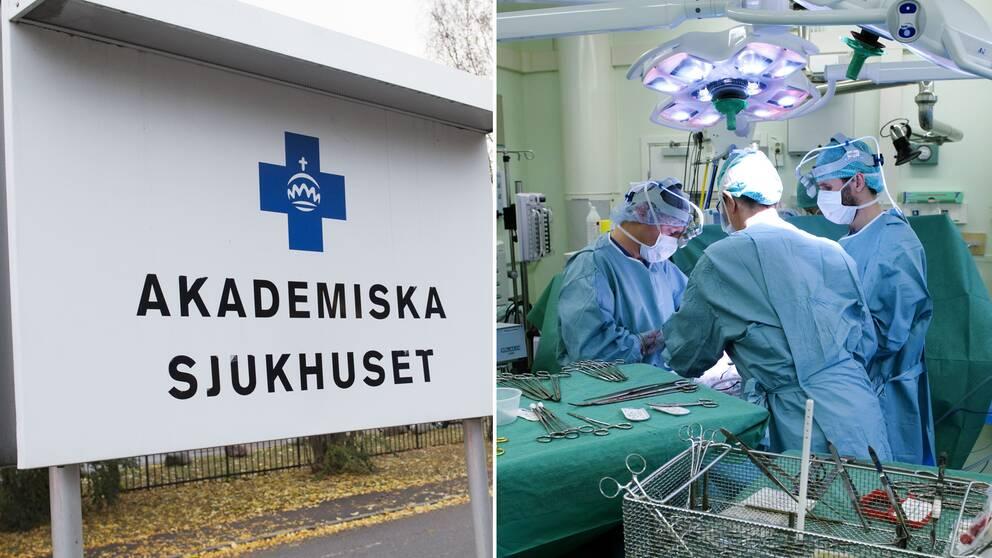 259 operationer ställdes in på Akademiska sjukhuset i Uppsala mellan den 11 och 21 oktober på grund av materialbristen inom sjukvården, skriver Dagens Medicin.