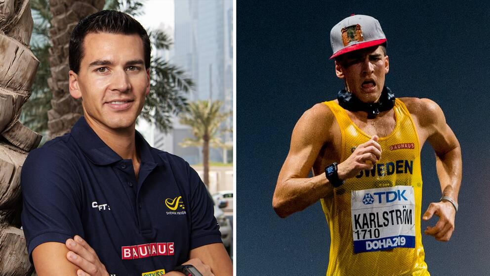 Perseus Karlström tror att beslutet att flytta gångtävlingen i OS kommer att gynna honom.