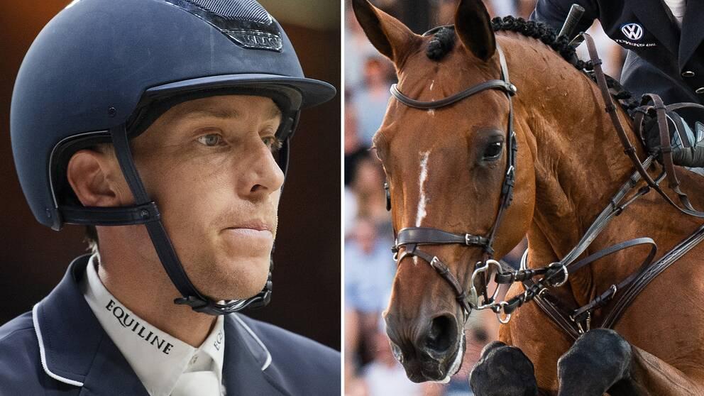 Henrik von Eckermann och hästen Toveks Mary Lou.