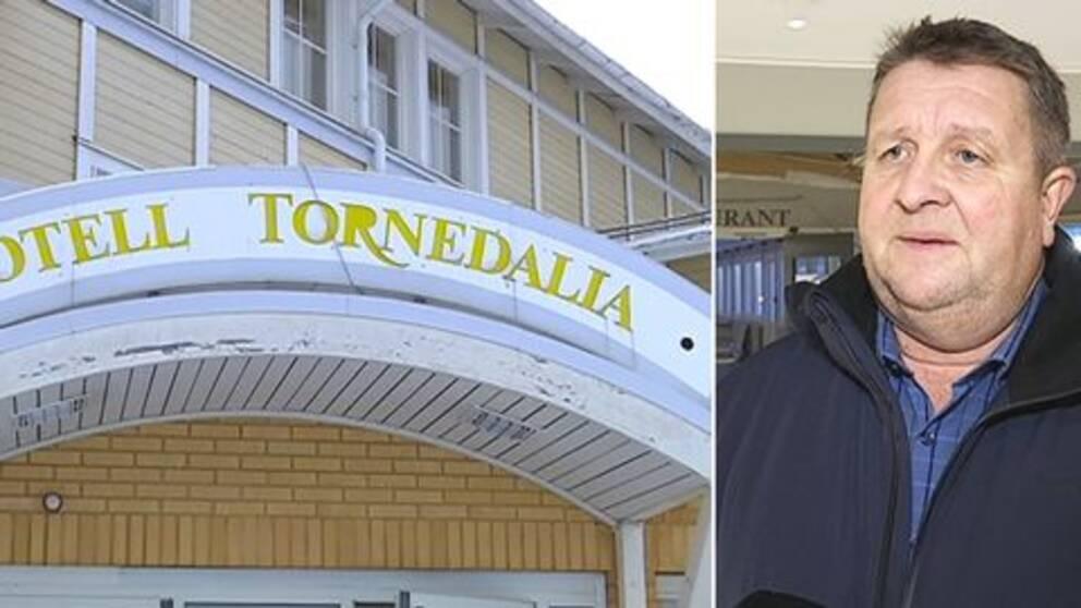 Enligt Tomas Mörtberg (C) kommunalråd i Övertorneå är det viktigt med ett hotell och en konferensanläggning i Övertorneå.