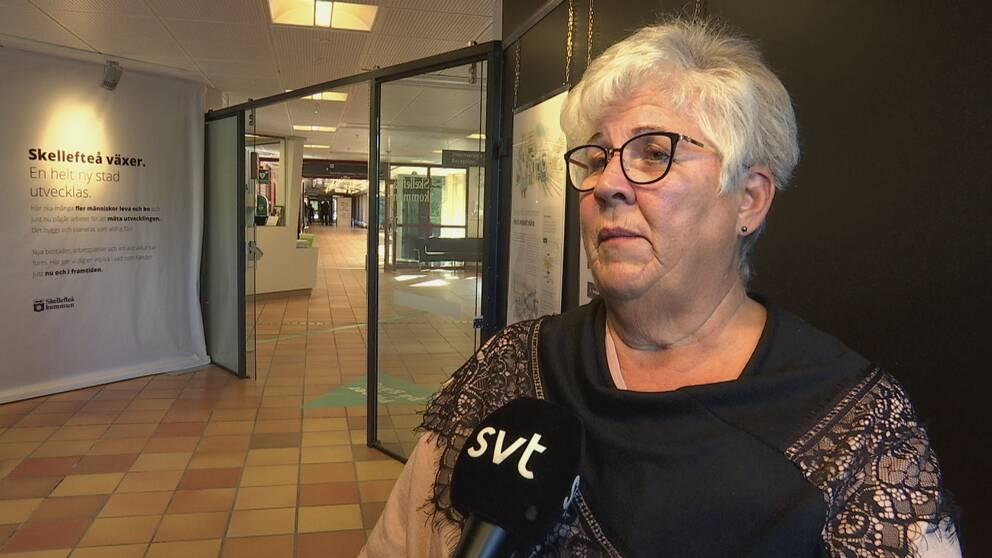 Maria Marklund (S), kommunalråd i Skellefteå.