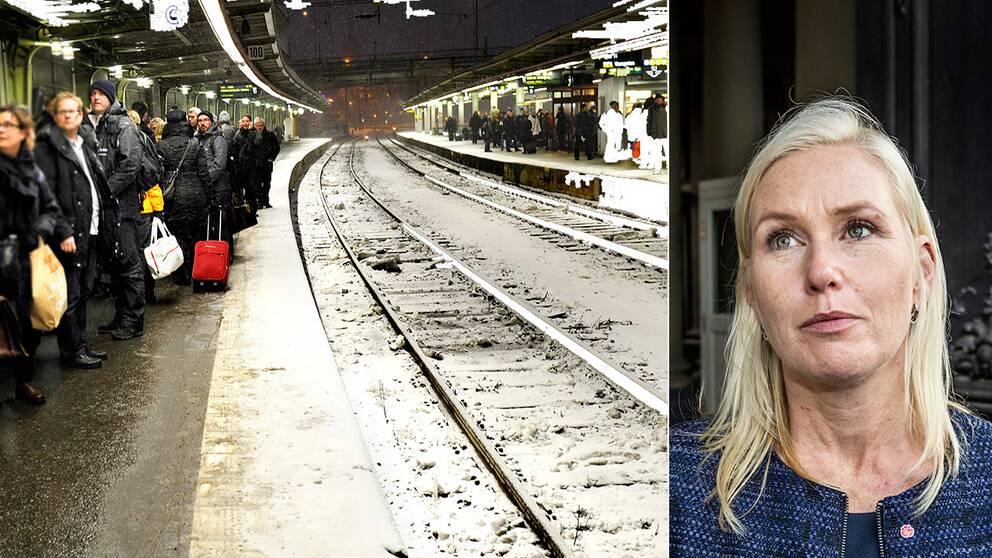 Minister litar inte på tågen  5a4b91f01e0fc