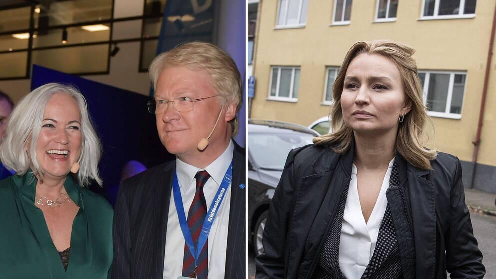 Före detta partisekreterare Acko Ankarberg Johansson och tidigare riksdagsledamoten och Europa-parlamentarikern Lars Adaktusson går emot Ebba Busch Thor och partiledningens integrationsförslag.