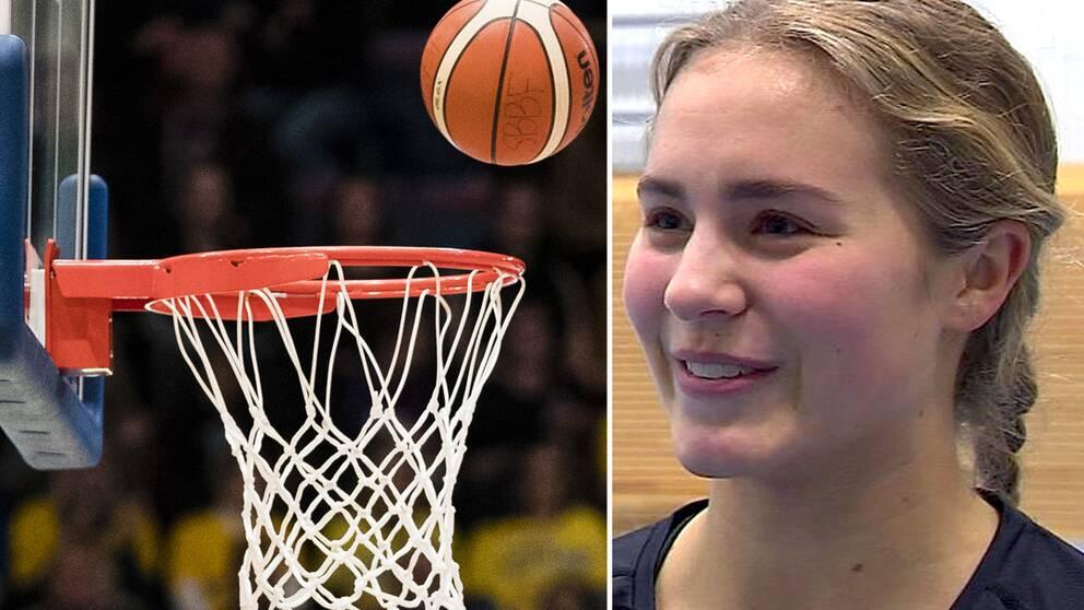 18-åriga Tova Sabel från Alvik ny i EM-kvaltruppen.