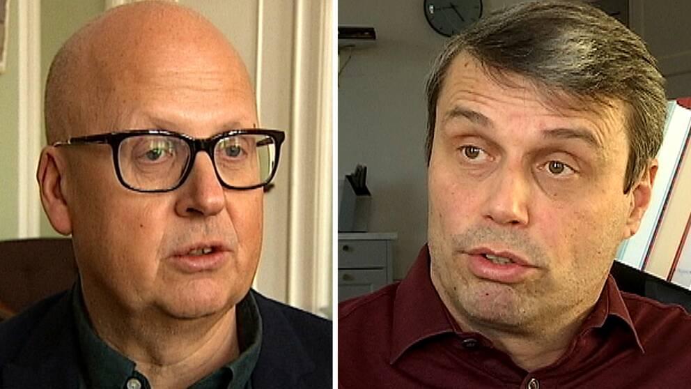 Bosse Svensson och Daniel Kindberg