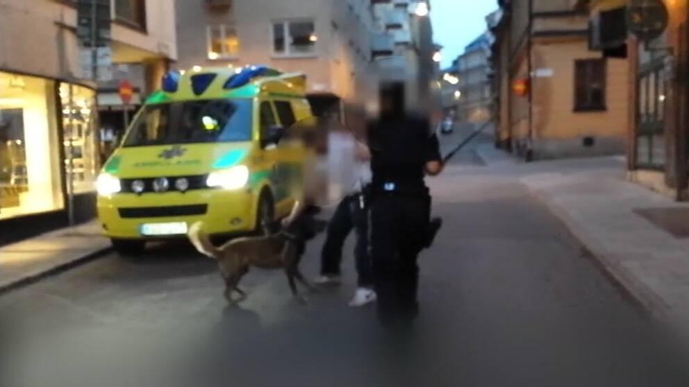 Flera poliser friades