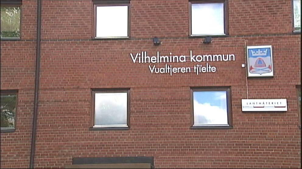 Kommunhuset i Vilhelmina.
