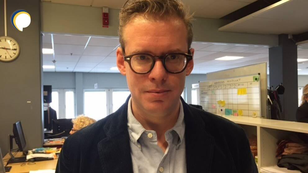 """""""Vi hoppas ge deltagarna möjlighet att möta någon som tycker annorlunda och lyssna till den personens argument"""", säger Kristian Lindquist, digital utvecklingschef på SVT"""