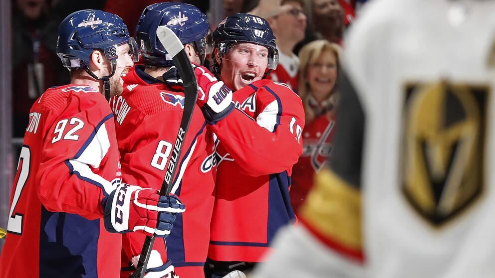 Nicklas Bäckström ligger fyra i svenskarnas poängliga i NHL.