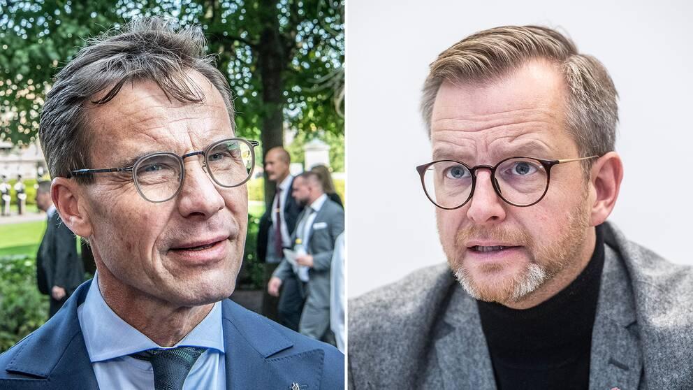 Ulf Kristersson och Mikael Damberg.