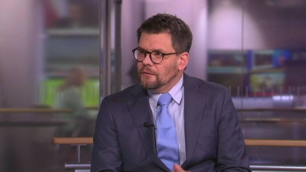 Jonas Trolle, chef för Center för våldsbejakande extremism