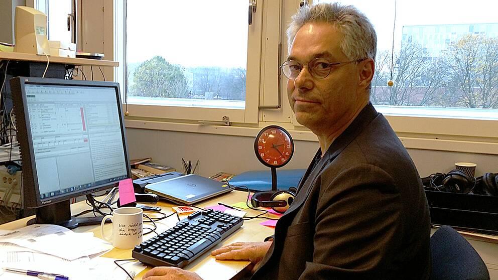 Rolf Tardell, redaktör på Agenda.