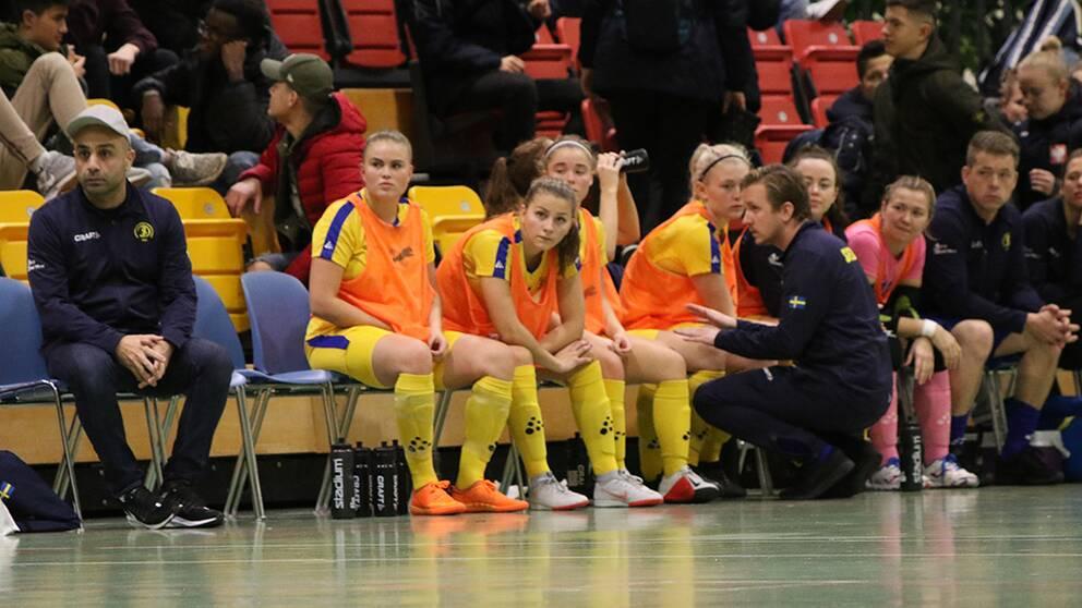 Futsal-VM: Damerna utslagna