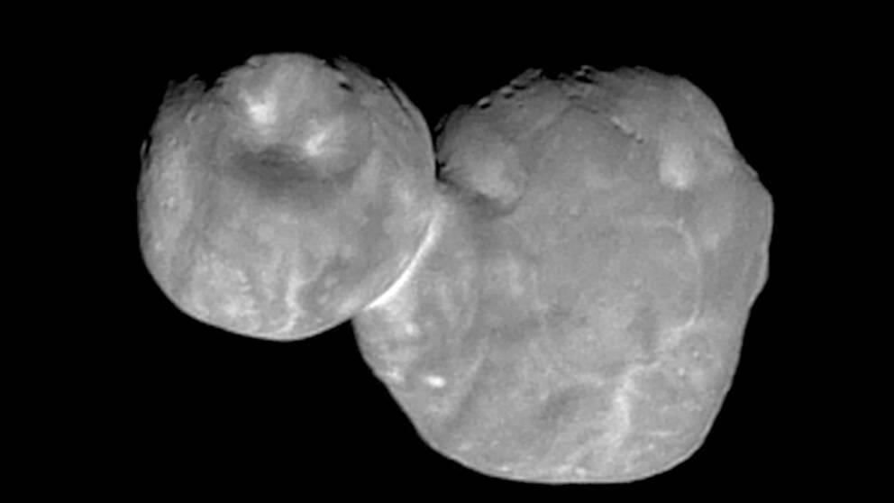 I januari i år lyckades Nasas rymdsond New Horizons dokumentera himlakroppen Ultima Thule, som nu blivit omdöpt till Arrokoth. Arkivbild.