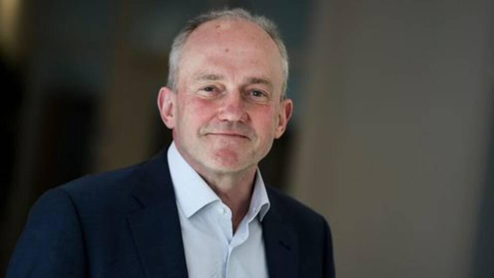 Porträtt av Joakim Stymne, generaldirektör för SCB, Statistiska Central Byrån.