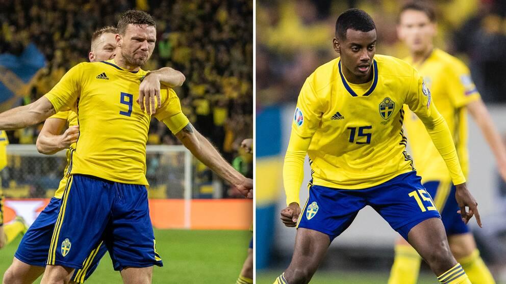 SVT:s expert Markus Johannesson vill se Berg och Isak starta mot Rumänien.