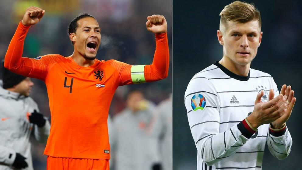 Både Nederländerna och Tyskland är klara för fotbolls-EM 2020.