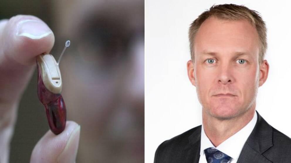 Det ska bli avsevärt mycket dyrare att prova ut hörapparat, föreslår Regionstyrelsens ordförande Mikael Johansson (M)