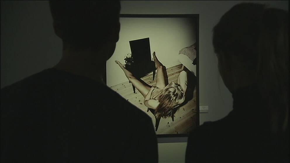 Olov Tegby-Frisks maskerade konstverk.