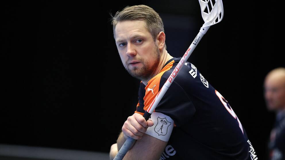 David Gillek under sin tid i Mullsjö.