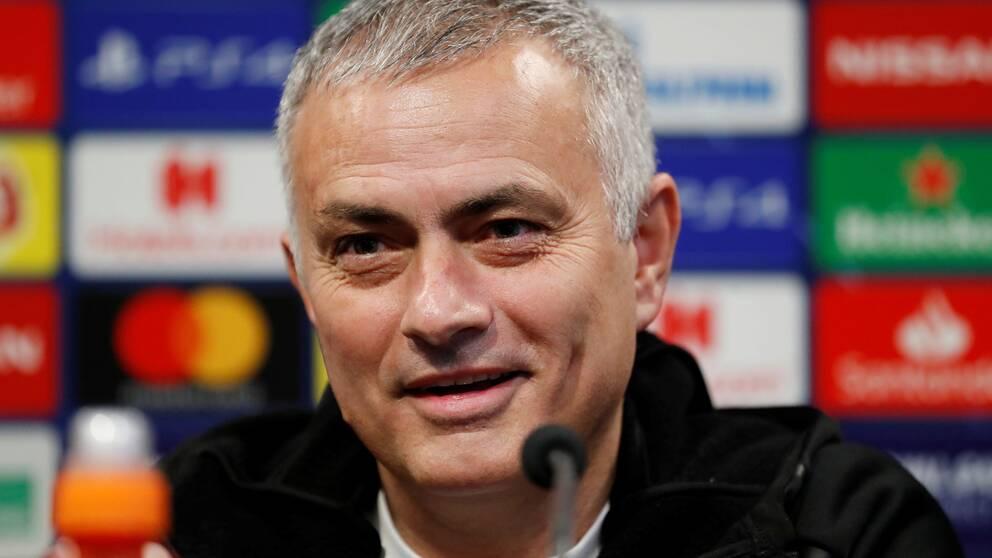 José Mourinho tar över Tottenham.