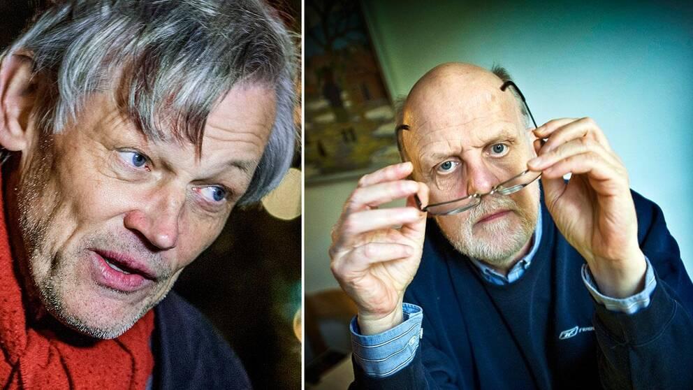 Göran Lambertz och Thomas Quick, numera Sture Bergwall.