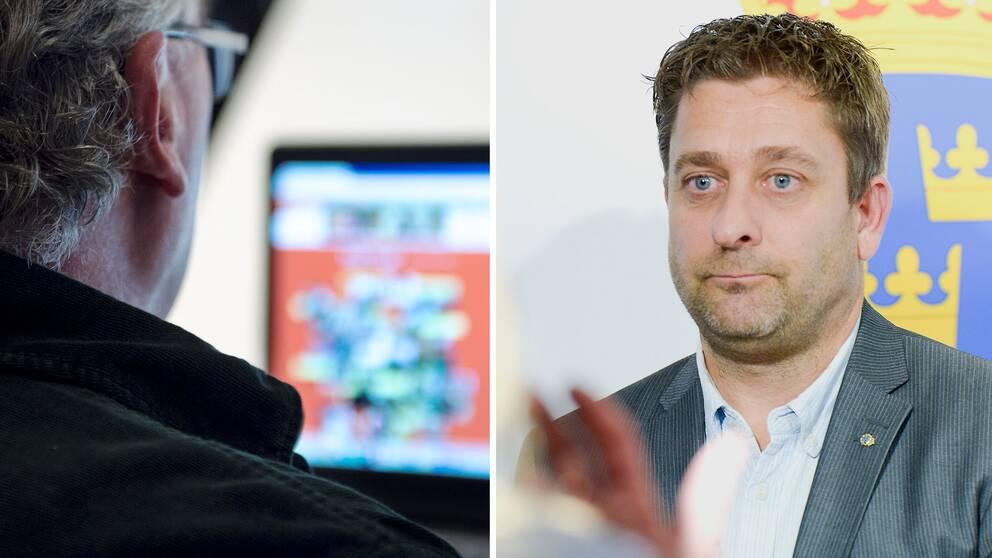 Poliskommissarie Björn Sellström efterlyser mer intelligenta tekniska lösningar som kan hjälpa polisen att hitta barn som utsätts för sexövergrepp på nätet.