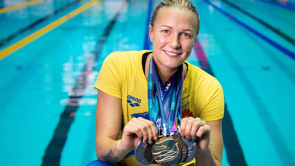 Sarah Sjöström är nominerad till Jerringspriset efter VM-succén.