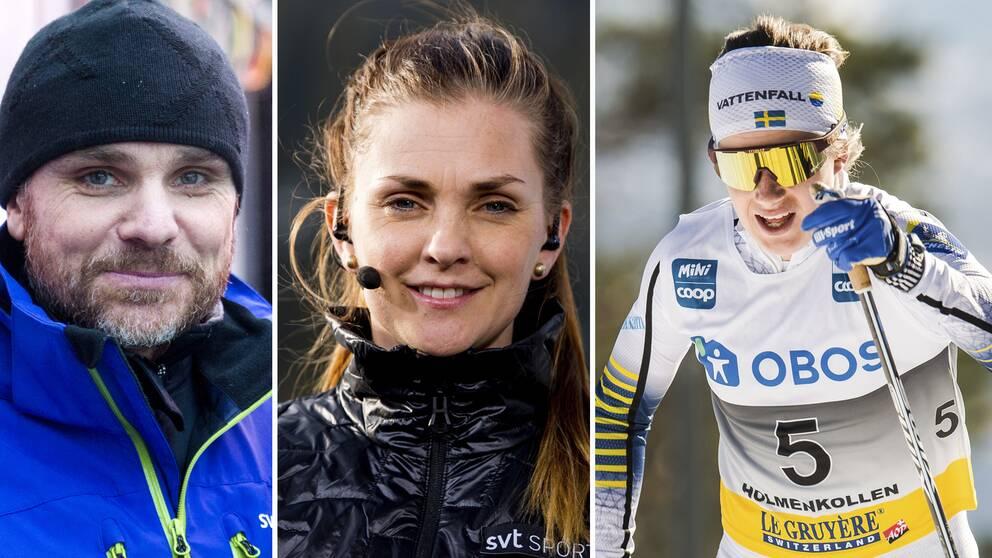 Anders Blomquist och Johanna Ojala om beskedet att Ebba Andersson missar säsongens inledande tävlingar.