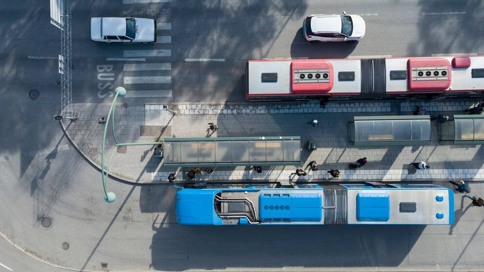 Bussar i Nacka