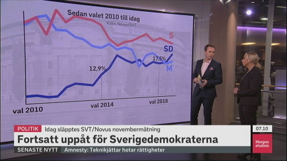 Elisabeth Marmorstein om SD:s opinionsframgång