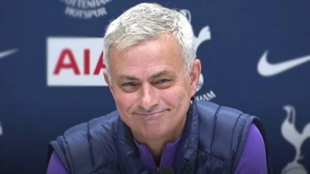 José Mourinho, tränare för Tottenham.