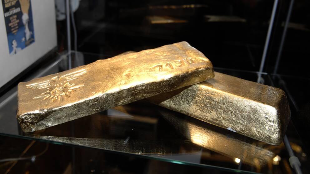 I ett alppensionat som tillhör det österrikiska Frihetspartiet hittades nyligen guldtackor i ett kassaskåp. Värdet på guldfyndet är oklart. Arkivbild.