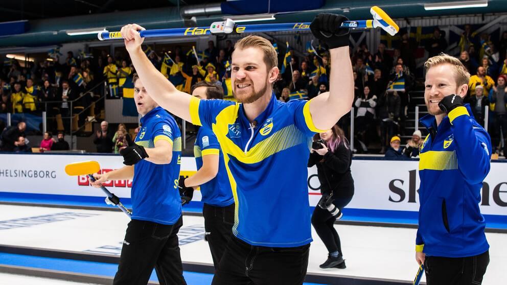 Lag Edin tog EM-guld i Helsingborg.