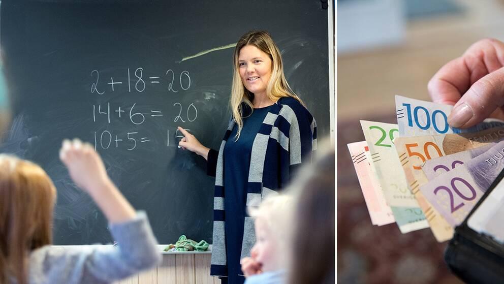 Sex av tio kommuner som svarat på SVT:s enkät planerar att spara på skolbudgeten.