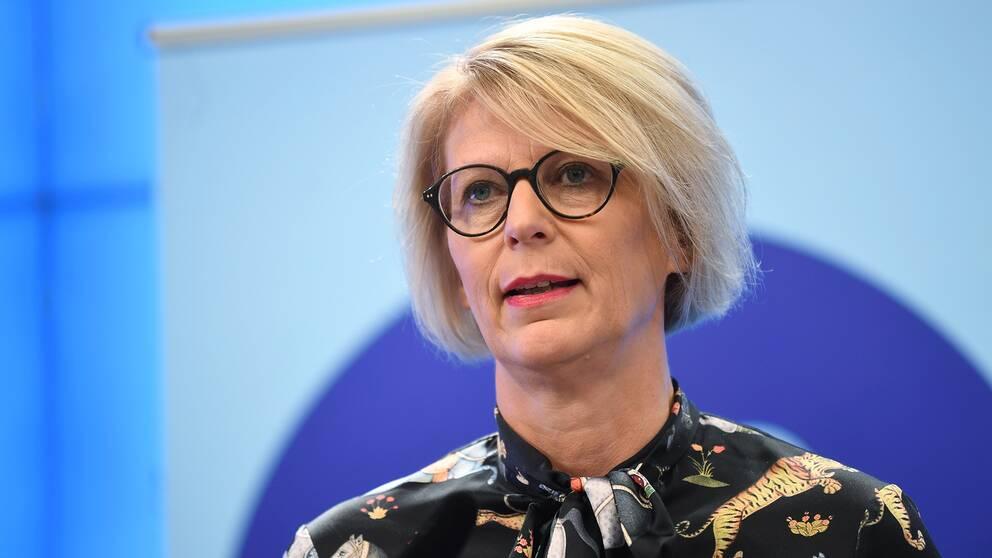 Elisabeth Svantesson (M), ekonomisk-politisk talesperson.