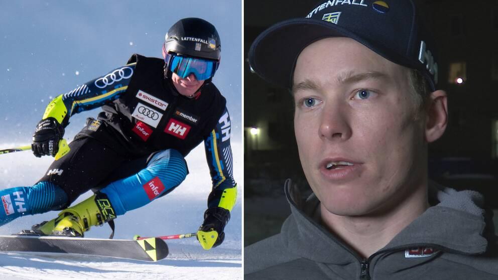 Kristoffer Jakobsen slog till med personbästa i slalompremiären.