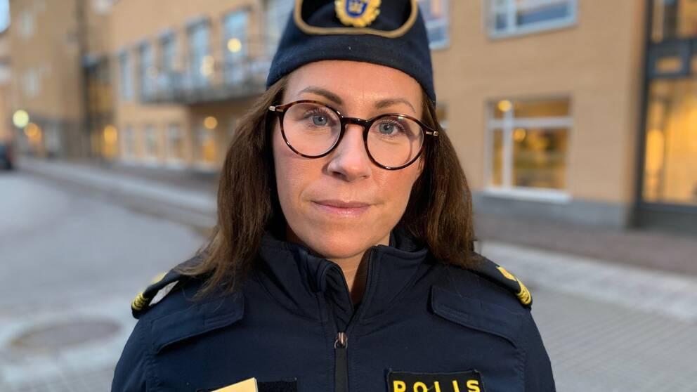 Åsa Willsund, presstalesperson polisregion Öst.