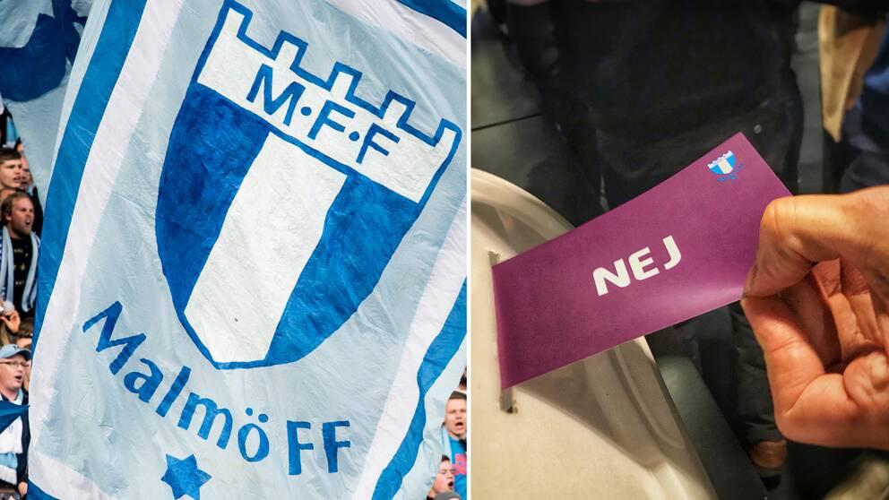 Malmö FF startar eget damlag efter att ha röstat nej till samgående med LB07.