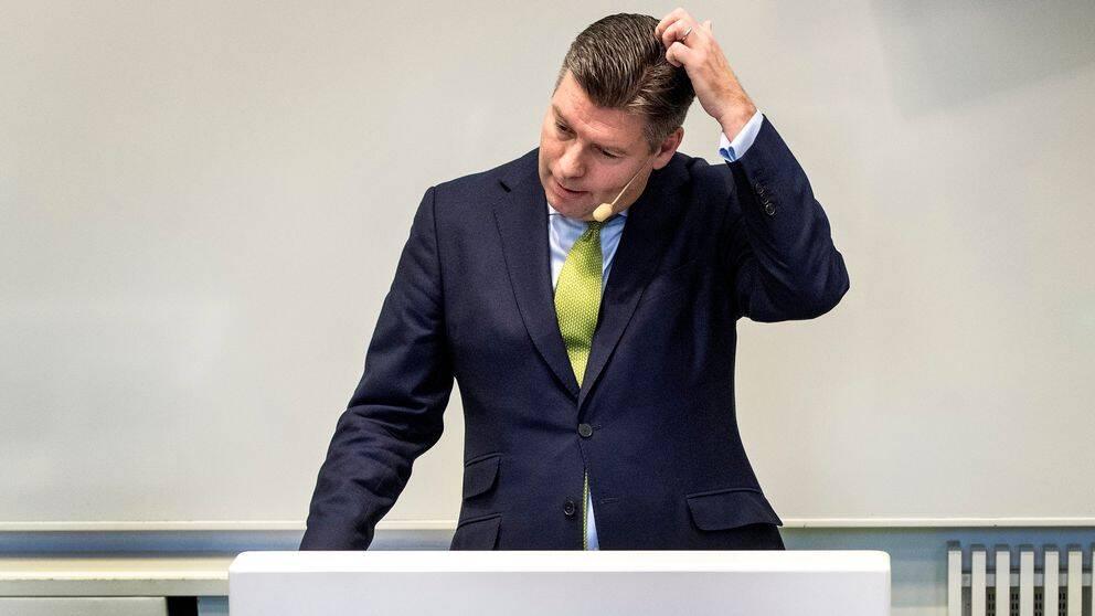 Johan Torgeby, vd på banken SEB.