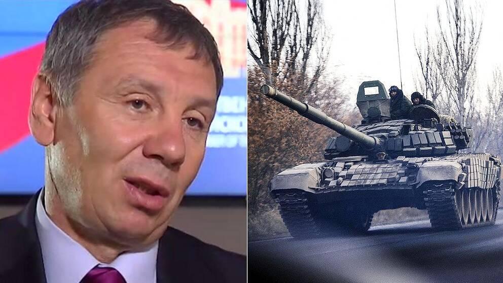 Putins sändebud Sergej Markov varnar de baltiska staterna för vad som kan hända vid ett krig.