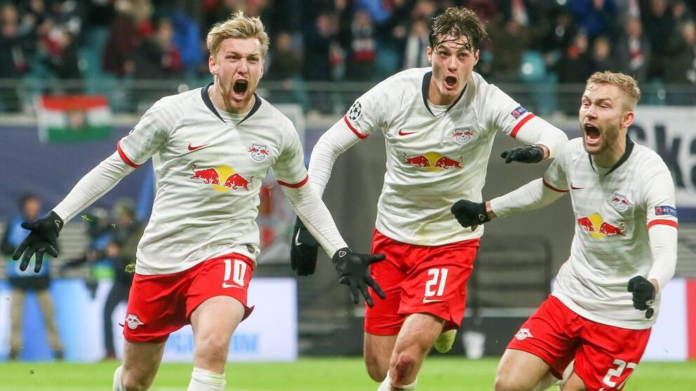 Emil Forsbergs målsuccé fortsätter.