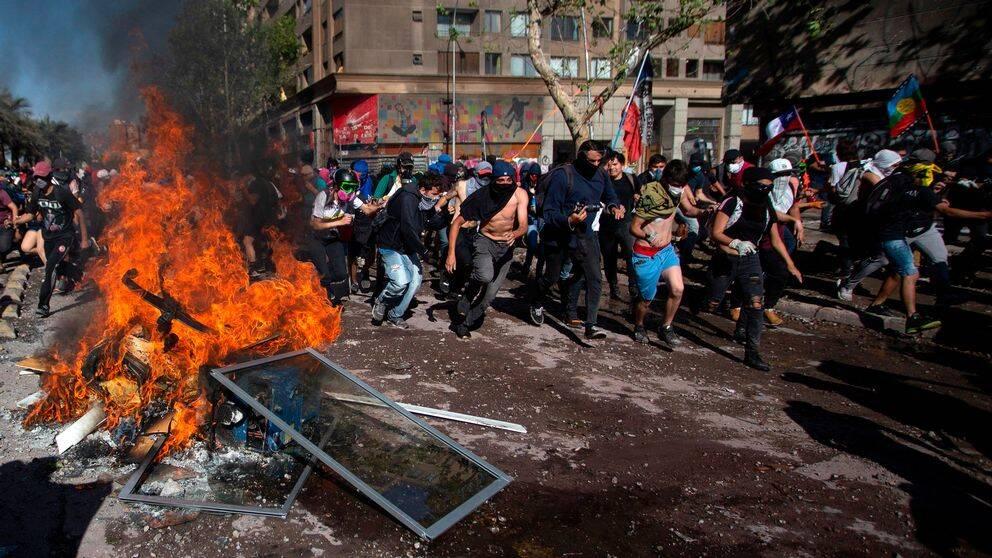Demonstrationer i Chile