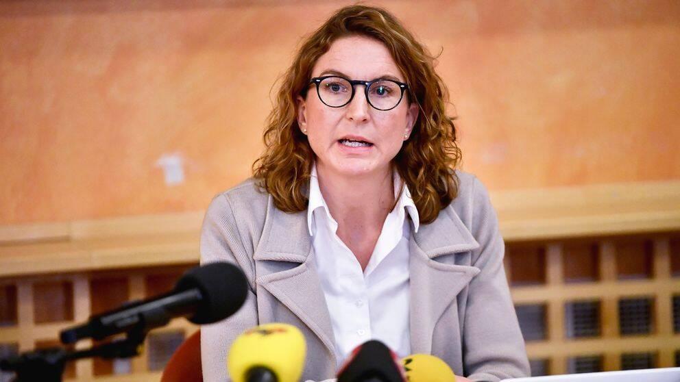 Caroline Fransson, vice chefsåklagare, berättade på polisens presskonferens att flera nya fynd gjorts och att man nu inväntar analysen av fynden.