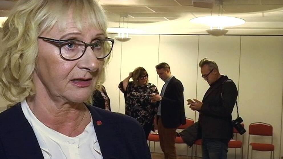 Civilminister Lena Micko (S)