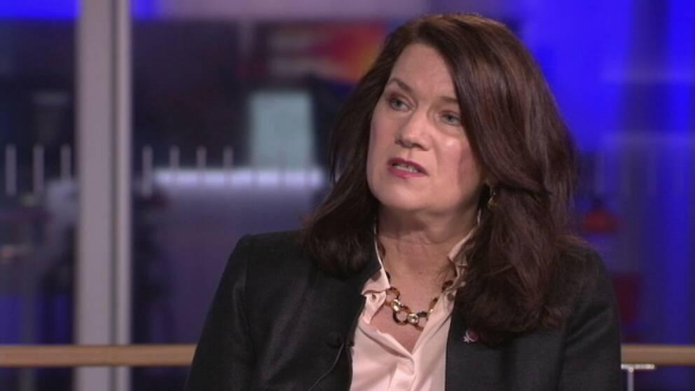 Utrikesminister Ann Lijnde (S)