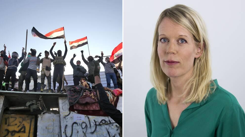 SVT:s Mellanösternkorrespondent Stina Blomgren om vad det innebär att Iraks premiärminister nu avgår.