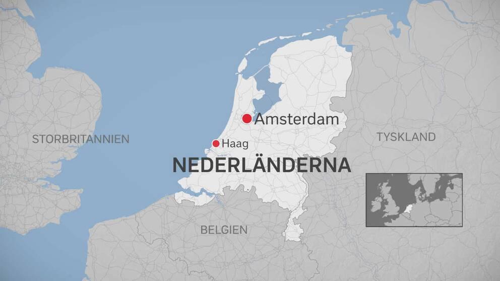 Karta Nederländerna
