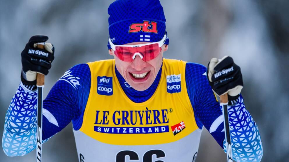 Iivo Niskanen tog sin första världscupseger i Ruka sedan 2016.